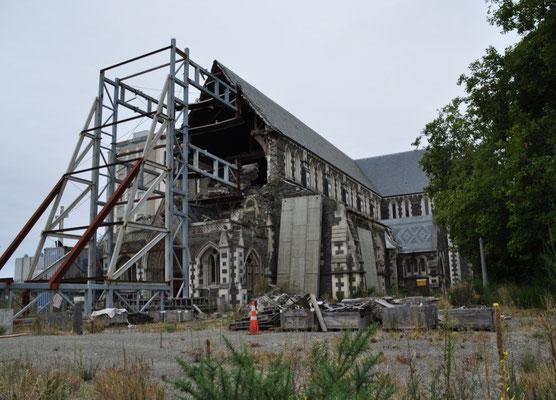 Die zerstörte Kathedrale...
