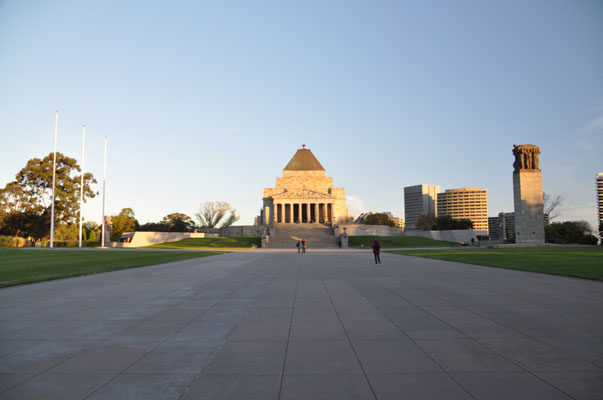 Shrine of Remembrance - Kriegsdenkmal
