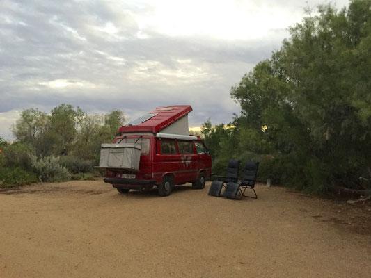 Unser Bushcamp bei Coward Springs