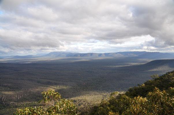 """Aussicht vom """"Reed Lookout"""" über das Victoria Valley"""