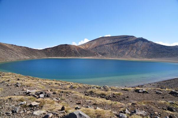 Blue Lake: Schade, kann man in diesem See nicht baden. :(