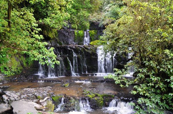 Purakaunui-Wasserfall