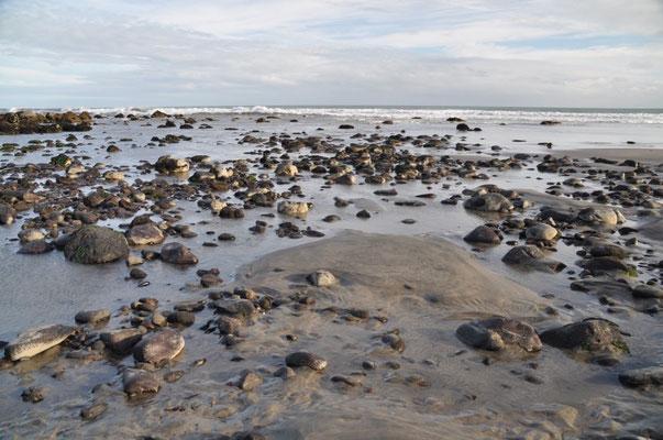 Am Strand von Ohawe