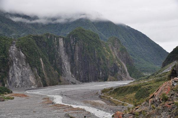 Auf dem Rückweg vom Fox Gletscher