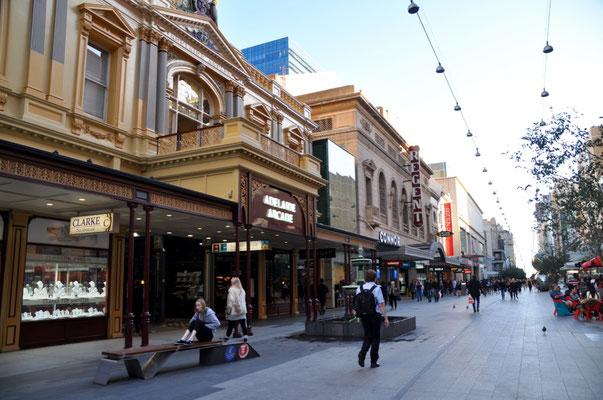 Rundle Mall: Die älteste Fussgängerzone Australiens