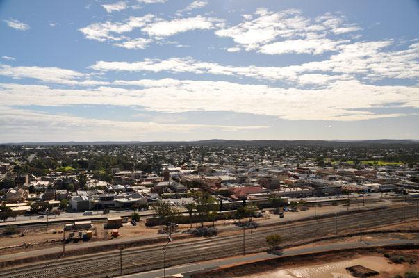 Aussicht über Broken Hill
