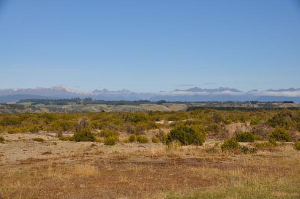Landschaft kurz nach Te Anau