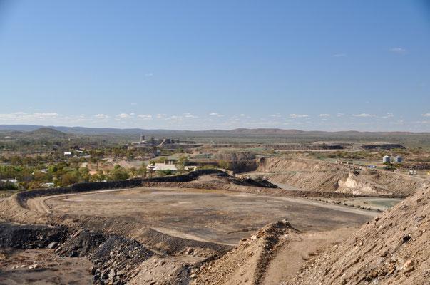 Noch immer aktiver Bergbau in Broken Hill