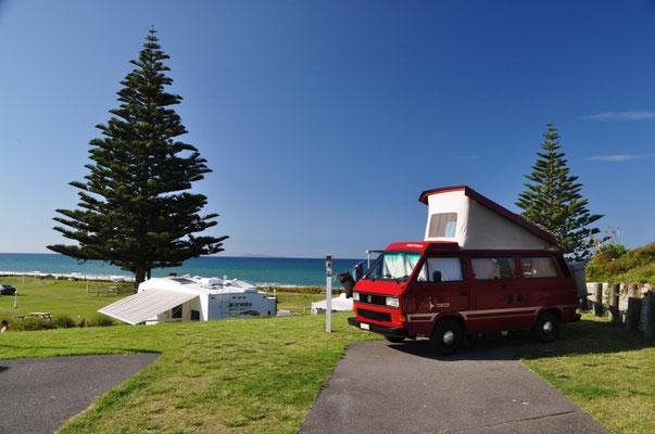 Camping-Stellplatz - oder was nicht passt, wird passend gemacht.