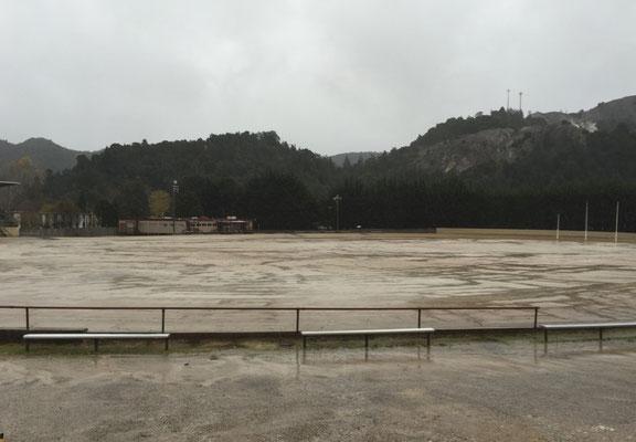 Der Football-Aschenplatz (autsch!)