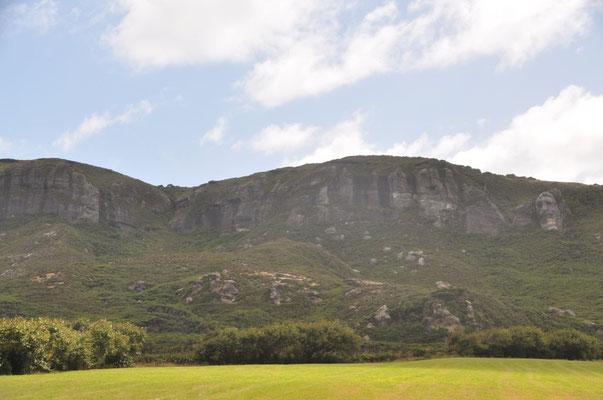Old Man Range Hügelkette - Finde das Gesicht des alten Mannes