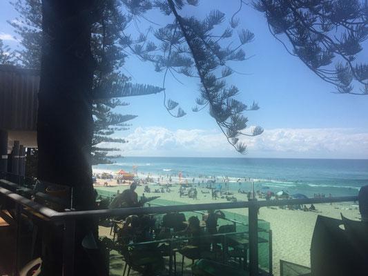 Mittagessen mit Aussicht an der Gold Coast