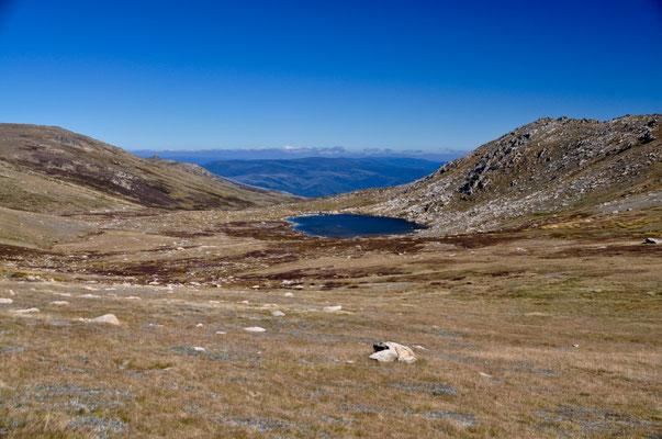 Blick auf den höchstgelegenen See Australiens: Lake Coopatamba