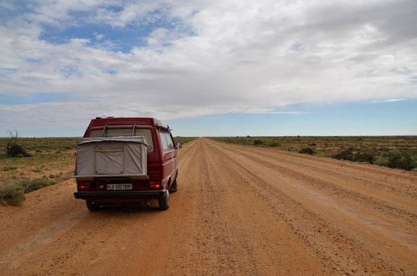 Unterwegs auf dem Oodnadata Track