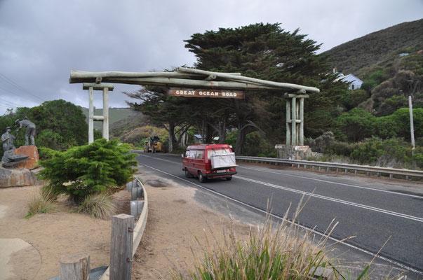 Mit dem VW-Bus auf der Great Ocean Road: Ein Traum wird wahr!
