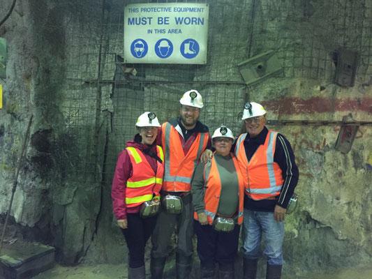 Arbeitssicherheit ist auch auf Tasmanien ein Thema.