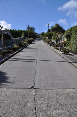 Baldwin Street - bergauf