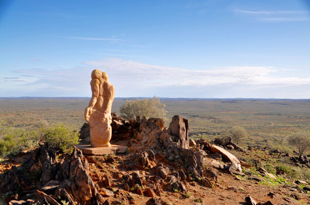 """The living desert"": Skulpturenpark mitten im Outback"