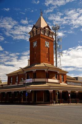 Turm der ehemaligen Hauptpost von Broken Hill