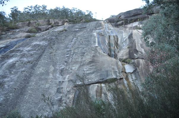 Ausgetrocknete Eurobin Falls
