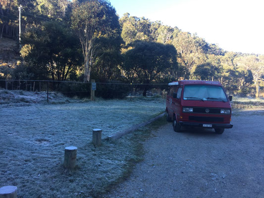 Wer hätte es gedacht... Väterchen Frost exisitiert auch in Australien!