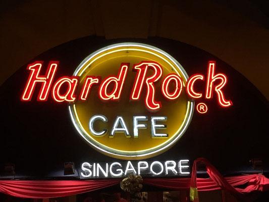 Martin's Geburtstagsburger im Hard Rock Café