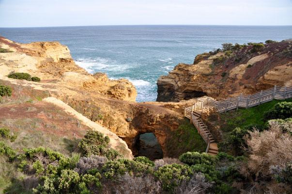 """Blick von oben auf """"The Grotto"""""""