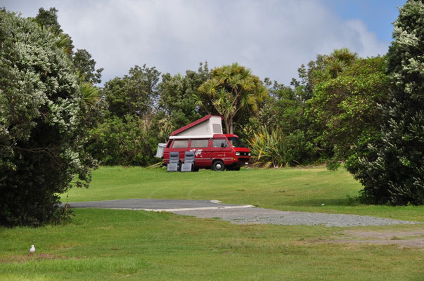 Campingplatz am Matai Bay
