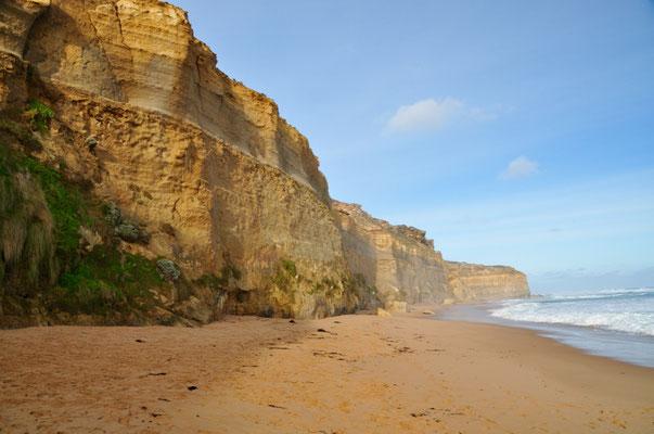 """Am Strand von """"Gibson Steps"""" mit Blick in Richtung Ost"""