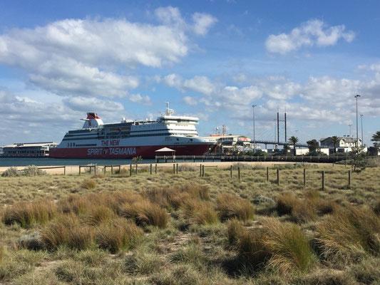Unsere Fähre nach Tasmanien