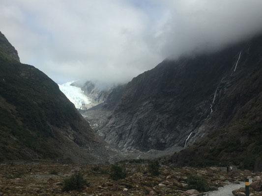 Auf dem Weg zum Franz Josef Gletscher