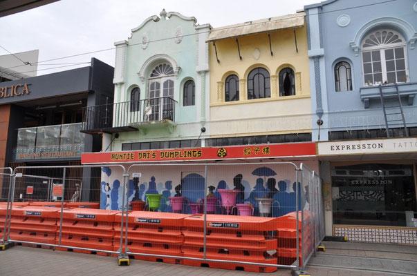 Nach einem erneuten Erdbeeben am 14.2.2016 wurden jedoch erneut Gebäude in Mitleidenschaft gezogen.