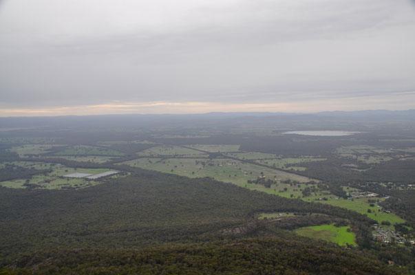 Aussicht vom Boroka Lookout über das Flachland
