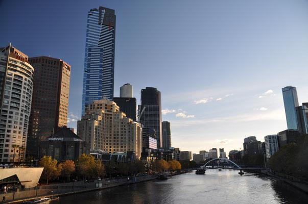 Blick auf den Yarra River