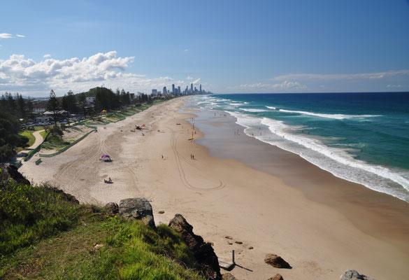Gold Coast - Kilometerlange Sandstrände