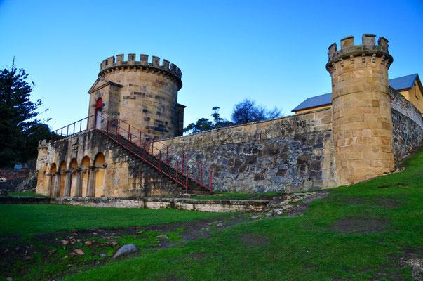 Gefängnisareal bei Port Arthur