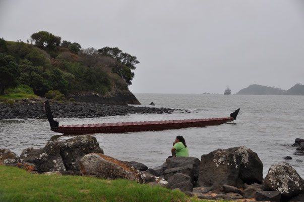 Ngatokimatawhaorua - oder das längste Kriegskanu der Welt