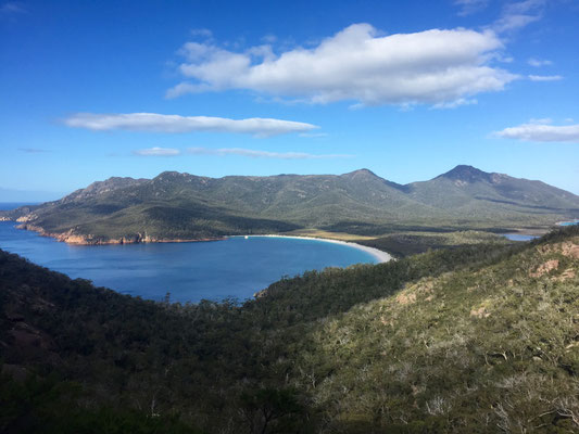 Freycinet National Park: Aussicht auf den Wineglass Bay