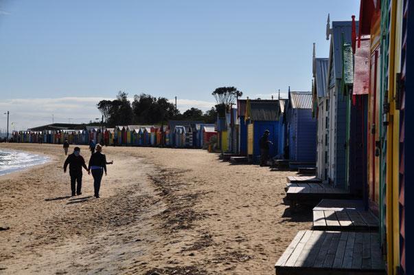 Strand beim Stadtteil Brighton