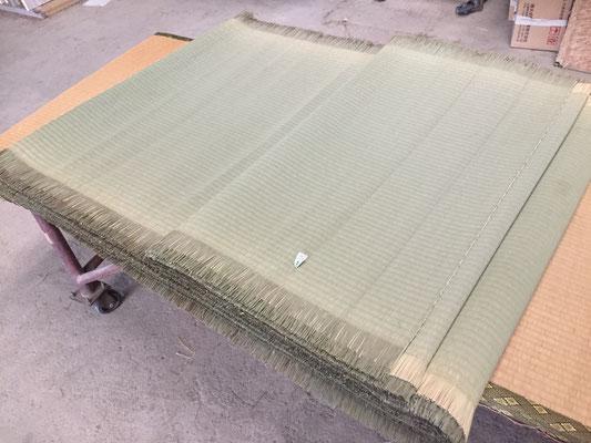 国産畳表 綿引き