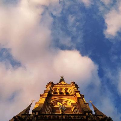St. Petri und das Wolkenloch