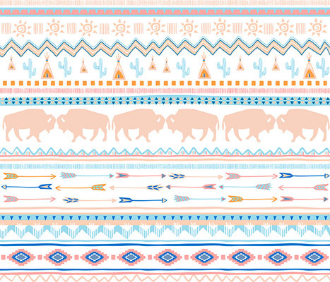 southwest_graphic, Oberflächendesign, Musterdesign, spoonflower 2015