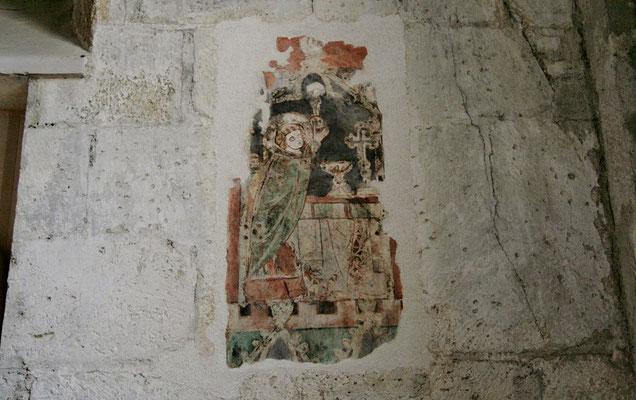 freigelegte Fresken