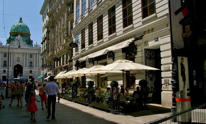 Cafe Demel - aussen