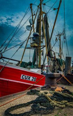 Fischkutter, Fischereihafen