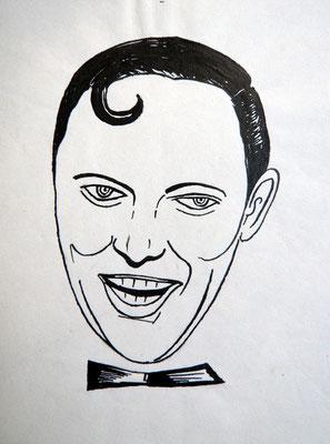 Bill Haley- Tuschezeichnung