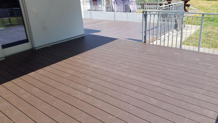 Terrassen-Deck, WPC