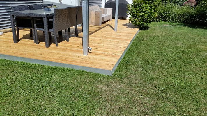 Terrassen-Deck, Lärche