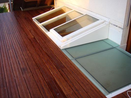 Terrassen-Deck, Bambus