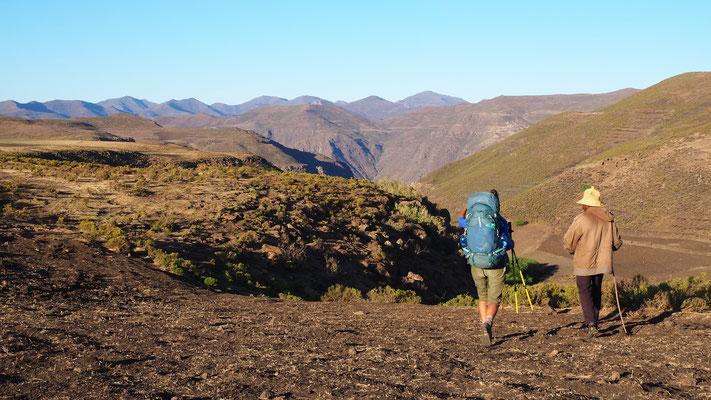 Chutes de Ketane ; Lesotho. Voyage Maxime Lelièvre